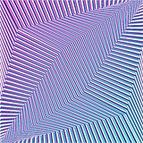 Fondo rayado futurista del extracto geométrico púrpura Vector ilustración del vector