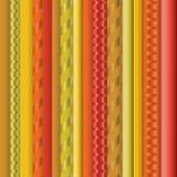 fondo rayado inconsútil del efecto 3d Imagen de archivo