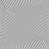 Fondo rayado monocromático futurista del extracto Vector ilustración del vector