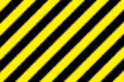Fondo rayado negro amarillo Fotografía de archivo libre de regalías