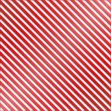 Fondo rayado rojo y blanco Fotografía de archivo libre de regalías