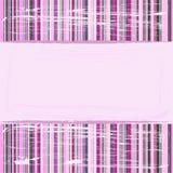 Fondo rayado rosado Imagen de archivo libre de regalías