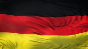 Fondo realista de la bandera de ALEMANIA que agita Fotos de archivo
