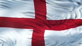 Fondo realista de la bandera de INGLATERRA que agita Foto de archivo libre de regalías