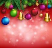 fondo realistico di Buon Natale 3D royalty illustrazione gratis
