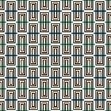 Fondo rectangular vertical repetido de los bloques Adorno de los ladrillos Modelo inconsútil contemporáneo con el ornamento geomé Imágenes de archivo libres de regalías