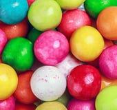 Fondo redondo del bubblegum de los colores Foto de archivo