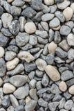 Fondo regolare della pietra del fiume Fotografia Stock