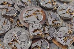 Fondo - relojes Fotos de archivo