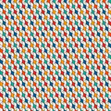 Fondo repetido de los diamantes Modelo inconsútil geométrico con el tessellation de los polígonos Adorno de los Rhombus y de los  Foto de archivo libre de regalías