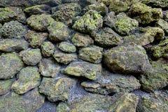 Fondo resistido de las rocas Fotografía de archivo