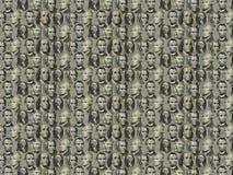 Fondo - retratos de los presidentes Foto de archivo libre de regalías