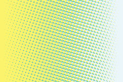 Fondo retro abstracto del arte pop de la pendiente del verde amarillo stock de ilustración