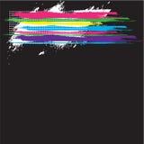 Fondo retro abstracto del grunge Fotografía de archivo