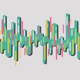 Fondo retro abstracto Ilustración del vector Foto de archivo libre de regalías