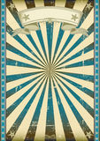 Fondo retro azul Textured Fotografía de archivo libre de regalías