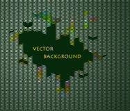 Fondo retro de la ilusión óptica ilustración del vector