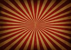 Fondo retro de la viga de Sun ilustración del vector