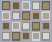 Fondo retro de los cuadrados stock de ilustración