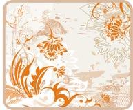 Fondo retro del encanto libre illustration