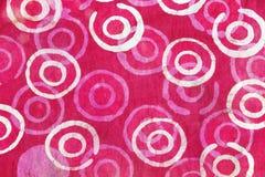 Fondo retro del modelo de la tela de la tapicería Fotografía de archivo