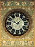 Fondo retro del reloj de Steampunk del vintage imagenes de archivo