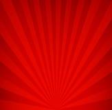 Fondo retro rojo El vintage irradia el modelo Imágenes de archivo libres de regalías