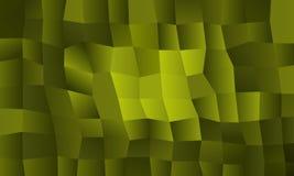 Fondo rettangolare confuso giallo verde illustrazione di stock