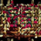 Fondo revuelto del fractal de la armadura Imagen de archivo