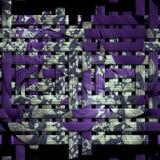 Fondo revuelto del fractal de la armadura Fotografía de archivo