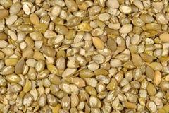Fondo rimosso dei semi di zucca Fotografia Stock