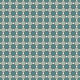 Fondo ripetuto del mosaico del vetro macchiato degli ottagoni Mattonelle di ceramica blu Modello senza cuciture con l'ornamento g royalty illustrazione gratis