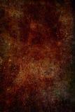 Fondo rojizo de la textura del metal del moho del grunge imagenes de archivo