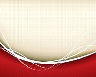 Fondo rojo ilustración del vector
