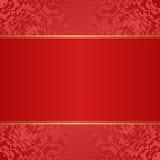 Fondo rojo Fotografía de archivo libre de regalías