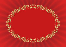 Fondo rojo Imágenes de archivo libres de regalías