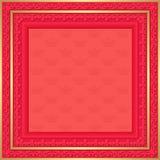 Fondo rojo Foto de archivo libre de regalías