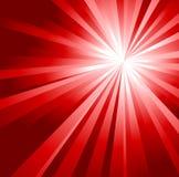 Fondo rojo abstracto