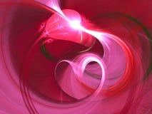 Fondo rojo abstracto Imagen de archivo