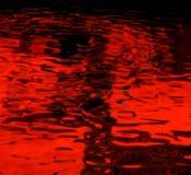 Fondo rojo abstracto Imagen de archivo libre de regalías