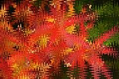 Fondo rojo abstracto Imágenes de archivo libres de regalías