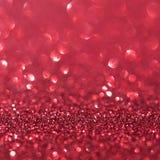 Fondo rojo abstracto del día de fiesta del brillo Imágenes de archivo libres de regalías