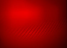 Fondo rojo abstracto del diseño del swirll del punto Libre Illustration
