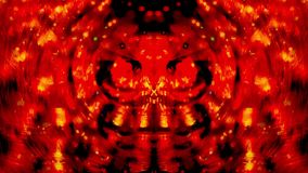 Fondo rojo abstracto del movimiento stock de ilustración