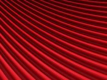 Fondo rojo abstracto del paño de la elegancia Foto de archivo