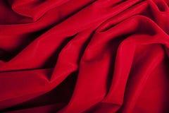 Fondo rojo abstracto del terciopelo Fotos de archivo