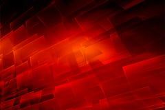 Fondo rojo abstracto gráfico del tema con la superficie transparente imagen de archivo libre de regalías