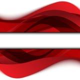 Fondo rojo abstracto. Ilustración del vector Fotos de archivo libres de regalías