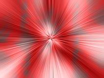 Fondo rojo abstracto radial Foto de archivo libre de regalías