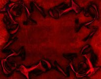 Fondo rojo, amor Fotos de archivo